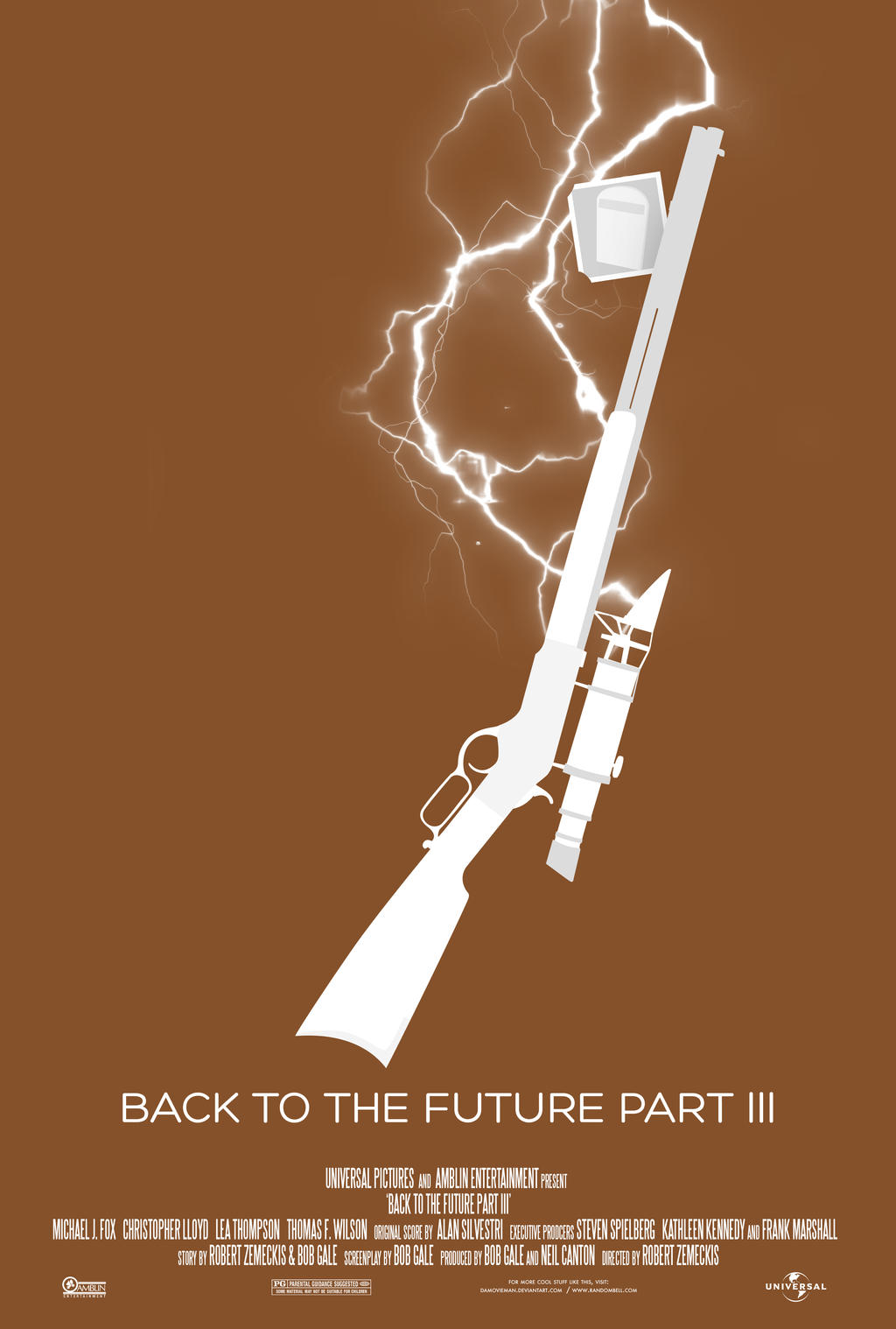 Minimal Posters: Back to the Future 3 by NewRandombell on ...