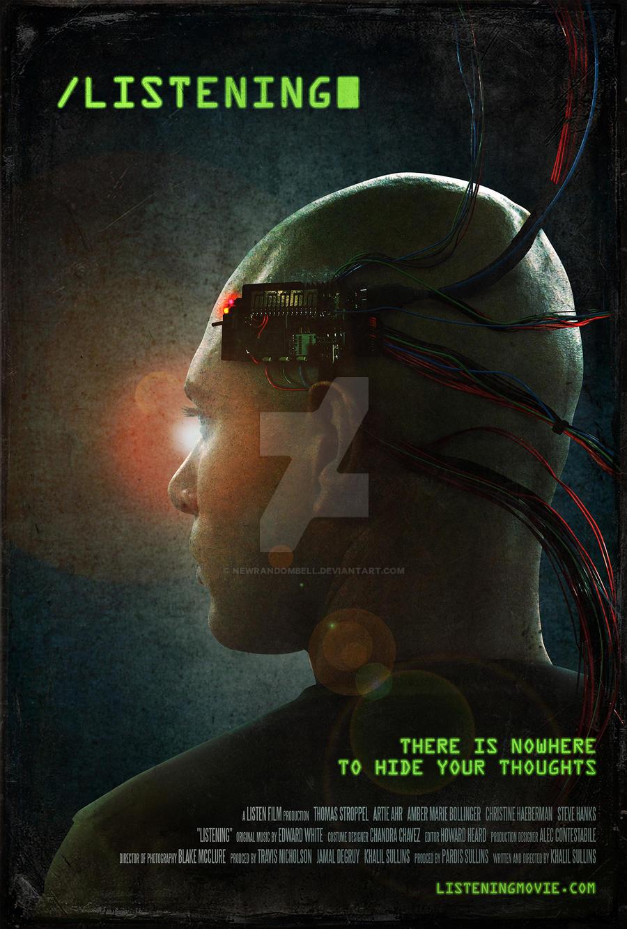 Listening - Theatrical Movie Poster by NewRandombell on DeviantArt