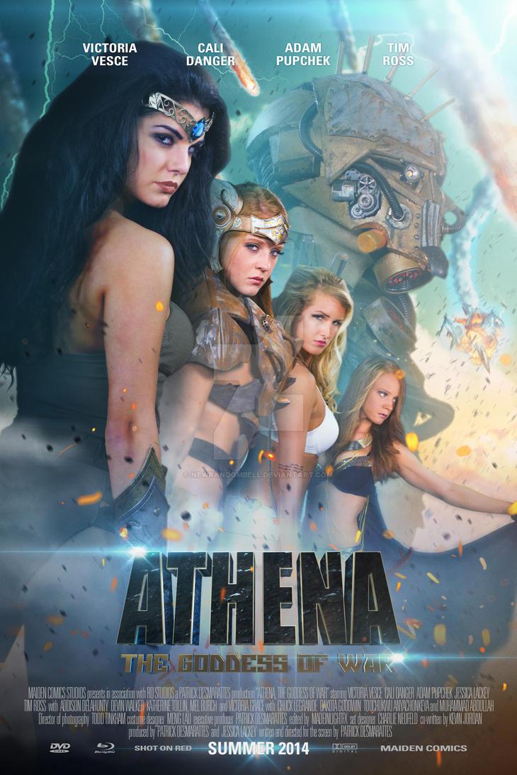 Athena The Goddess of War - Main Poster by NewRandombell