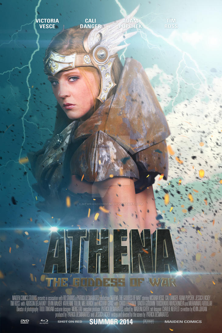 Athena The Goddess of War - Character Poster 6 by NewRandombell