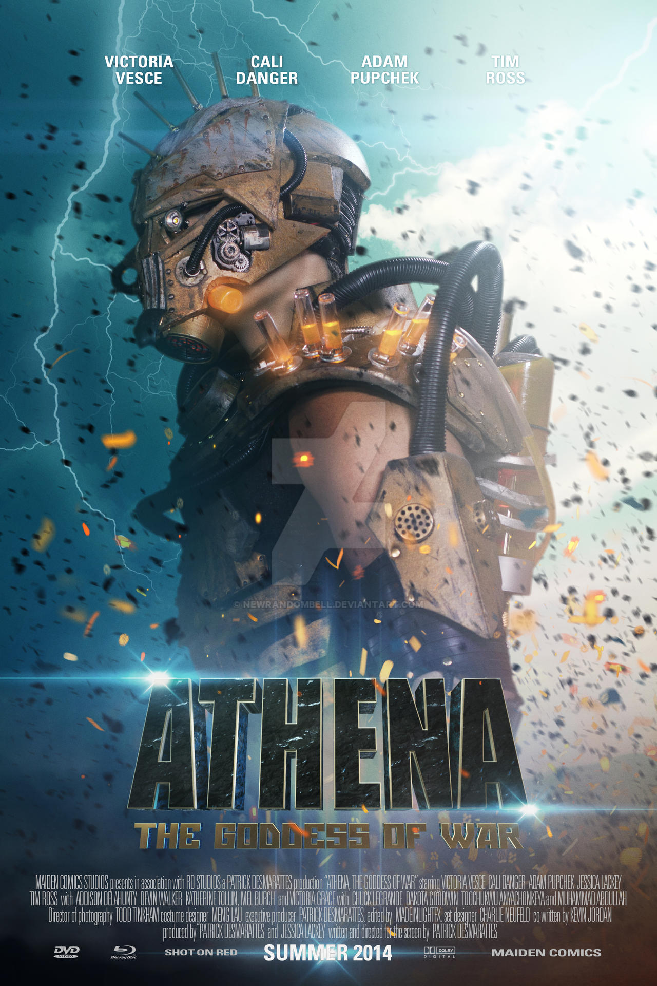 Athena The Goddess of War - Character Poster 4 by NewRandombell