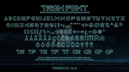 TR2N 2.0 - Font