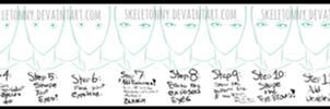 How I Draw BLEACH Style Eyes- FEMALE