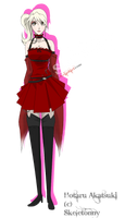 Hotaru Akatsuki :: A Side Project for ChiChi by Skeletonny