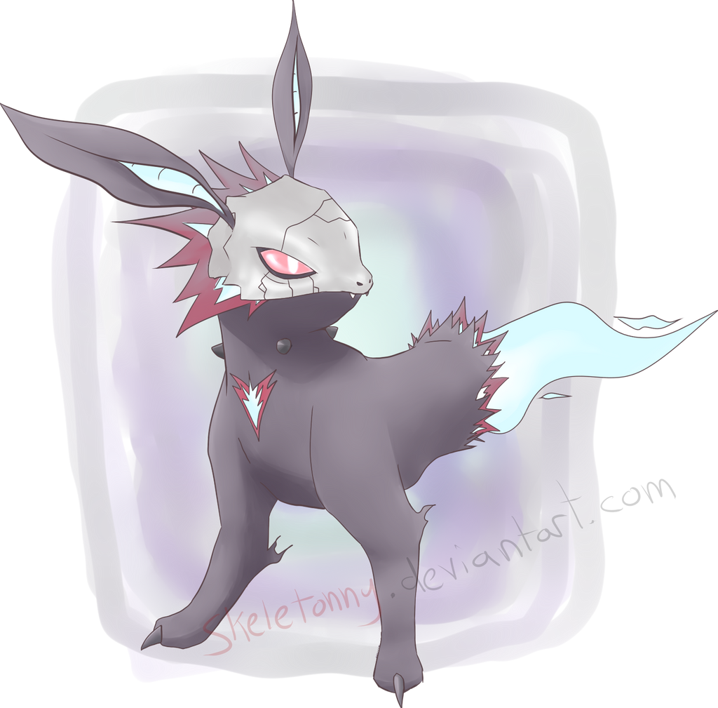 Eevee Evolution :: Ghost-Type :: Goreon by Skeletonny on ...
