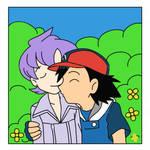 ash kiss Anabel