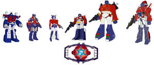 G1 Ultra magnus prime and The Prime Council