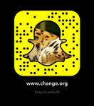 Snapcode Against Poachers and Trophy Hunting