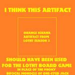 More Logical S3 Orange Iguana Artifact Meme