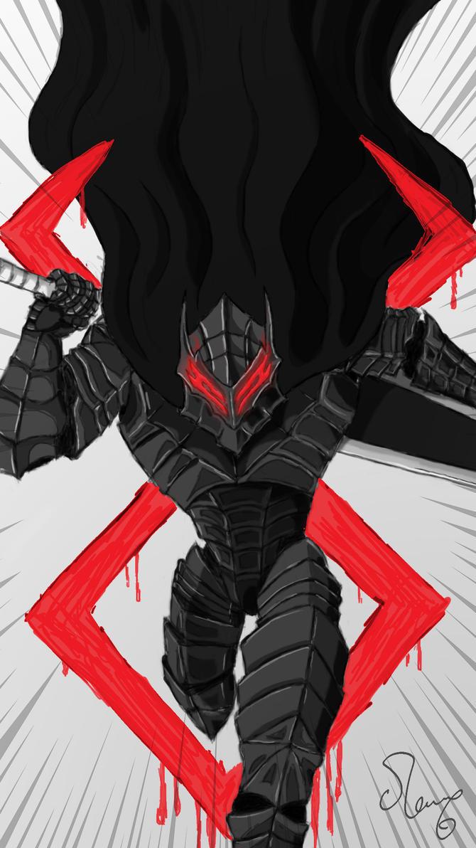 Guts in Berserker Armor from Berserk by OhAlAmin