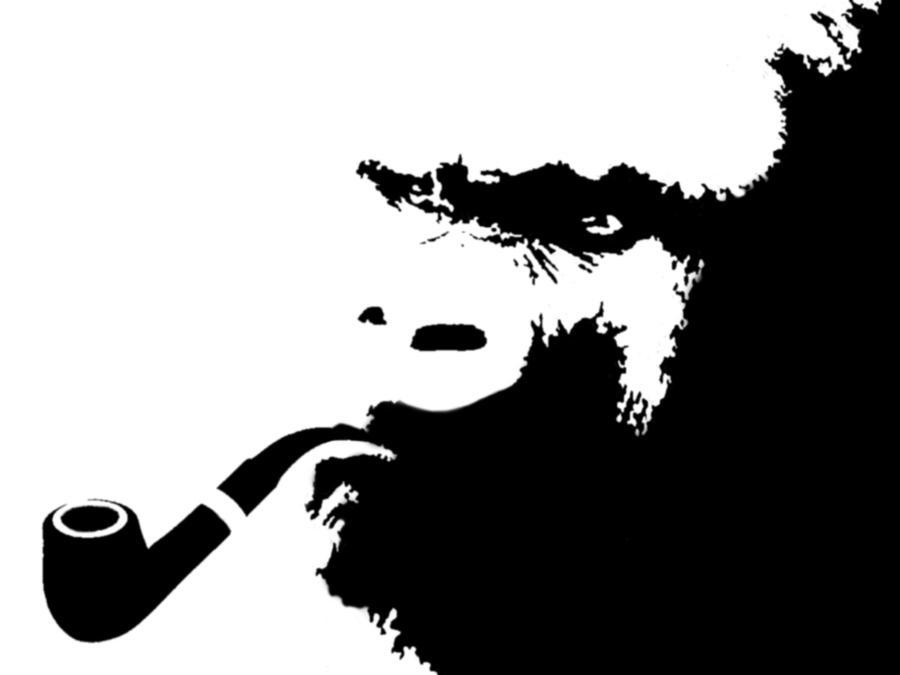 gorilla stencil by foxtrinee on deviantart