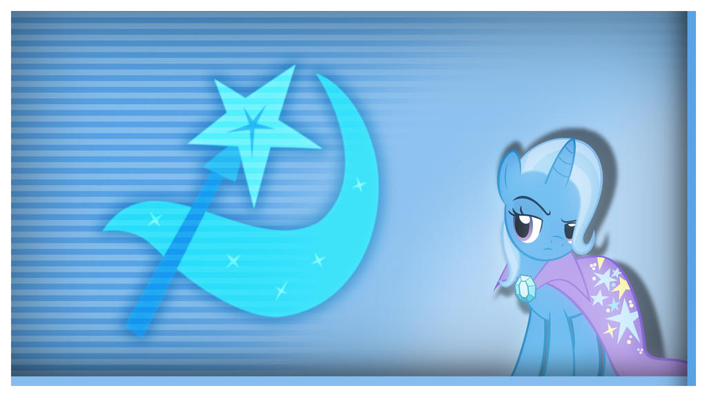 Trixie - Cutie Mark Wallpaper by Clone26