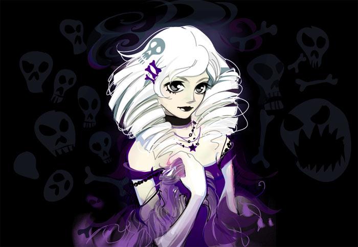 Anime girl dark gothic by limkis on deviantart - Dark anime girl pics ...