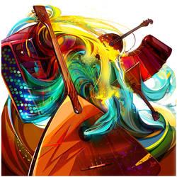 Music CD cover
