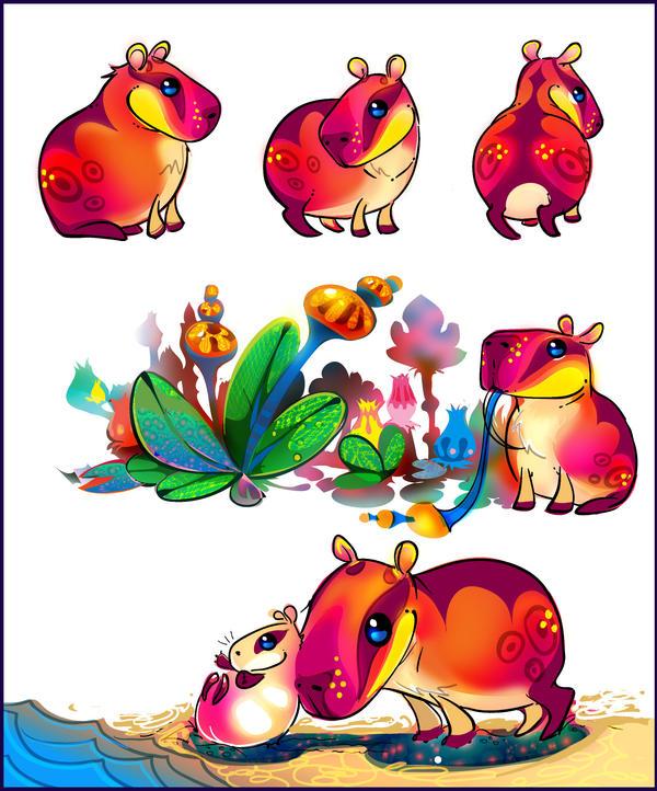 Capybara  pet by LimKis