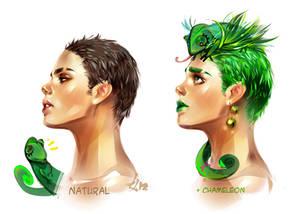 Natural and Chameleon
