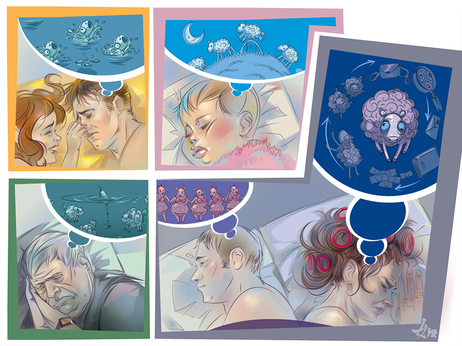 sleep by LimKis