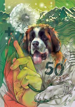 Man's best friend. Switzerland. 50 franc.
