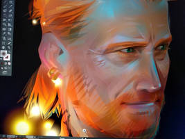 Jorah Mormont. Free fanart by LimKis