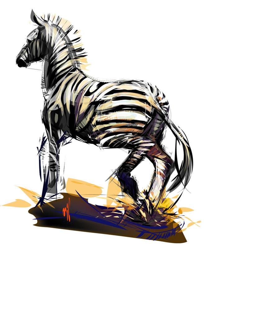 Zebra by LimKis