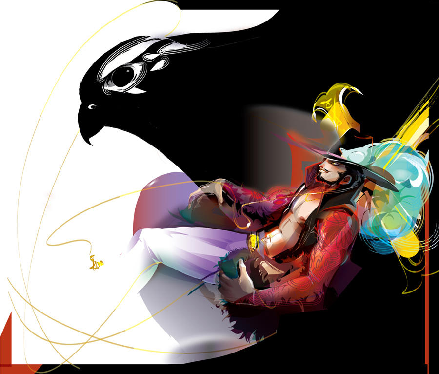 "Dracule ""Hawkeye"" Mihawk by LimKis"