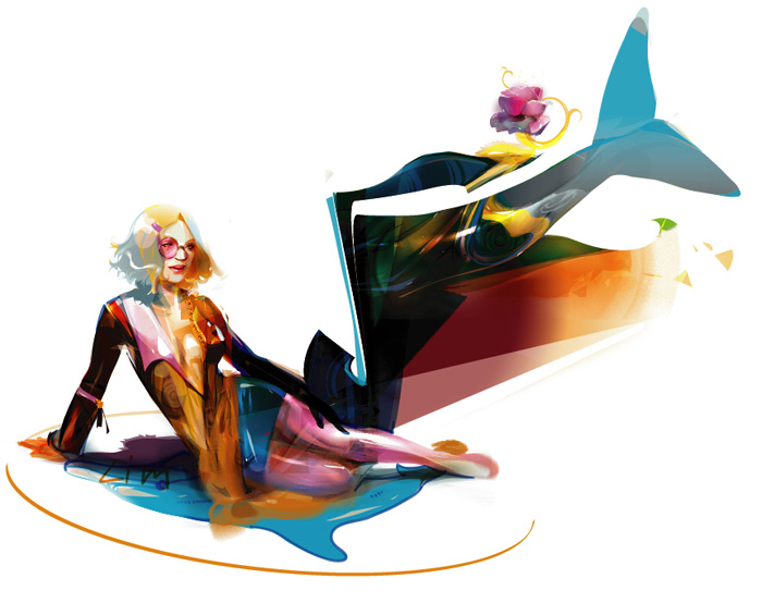 mermaid F by LimKis