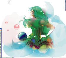 sketch 02 neptun by LimKis