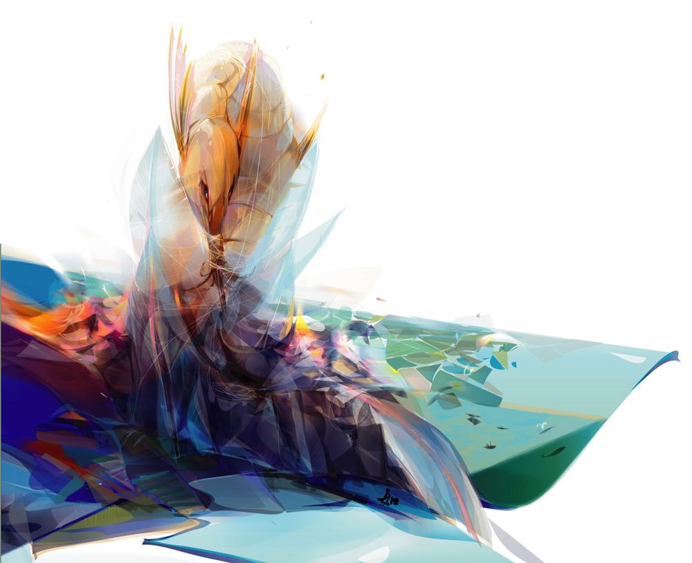 larva by LimKis
