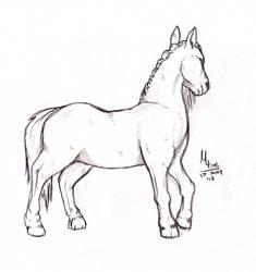 Horse? Horse.
