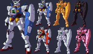 Gundam AGE KOF XIII palette