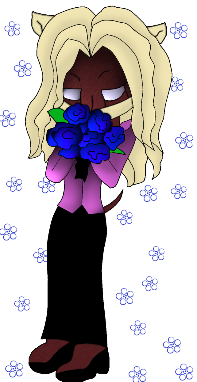 AT: Blue Roses by TwistedArtsticMind