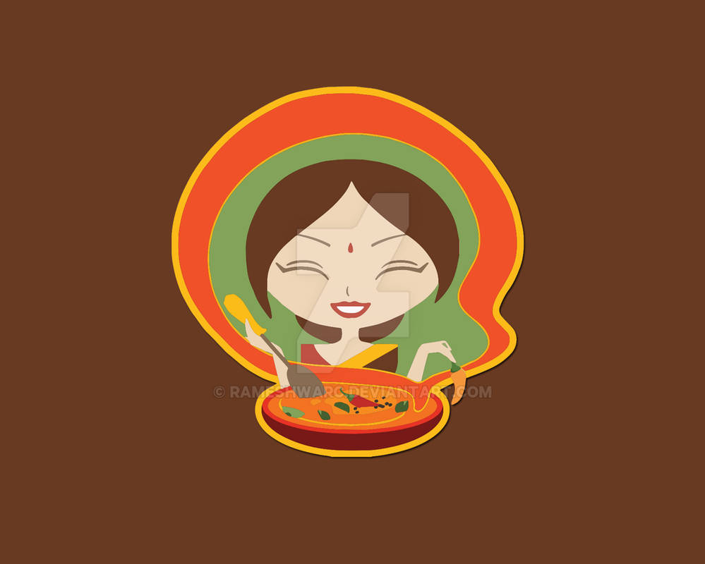 Indian Woman Cooking Food By Rameshwarc On Deviantart
