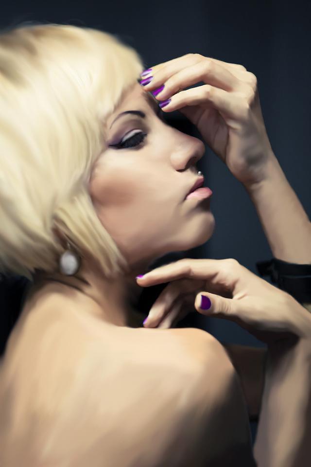 Blonde by madgurl