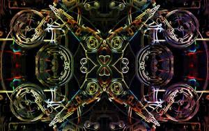 Hard  disk drive by lumination
