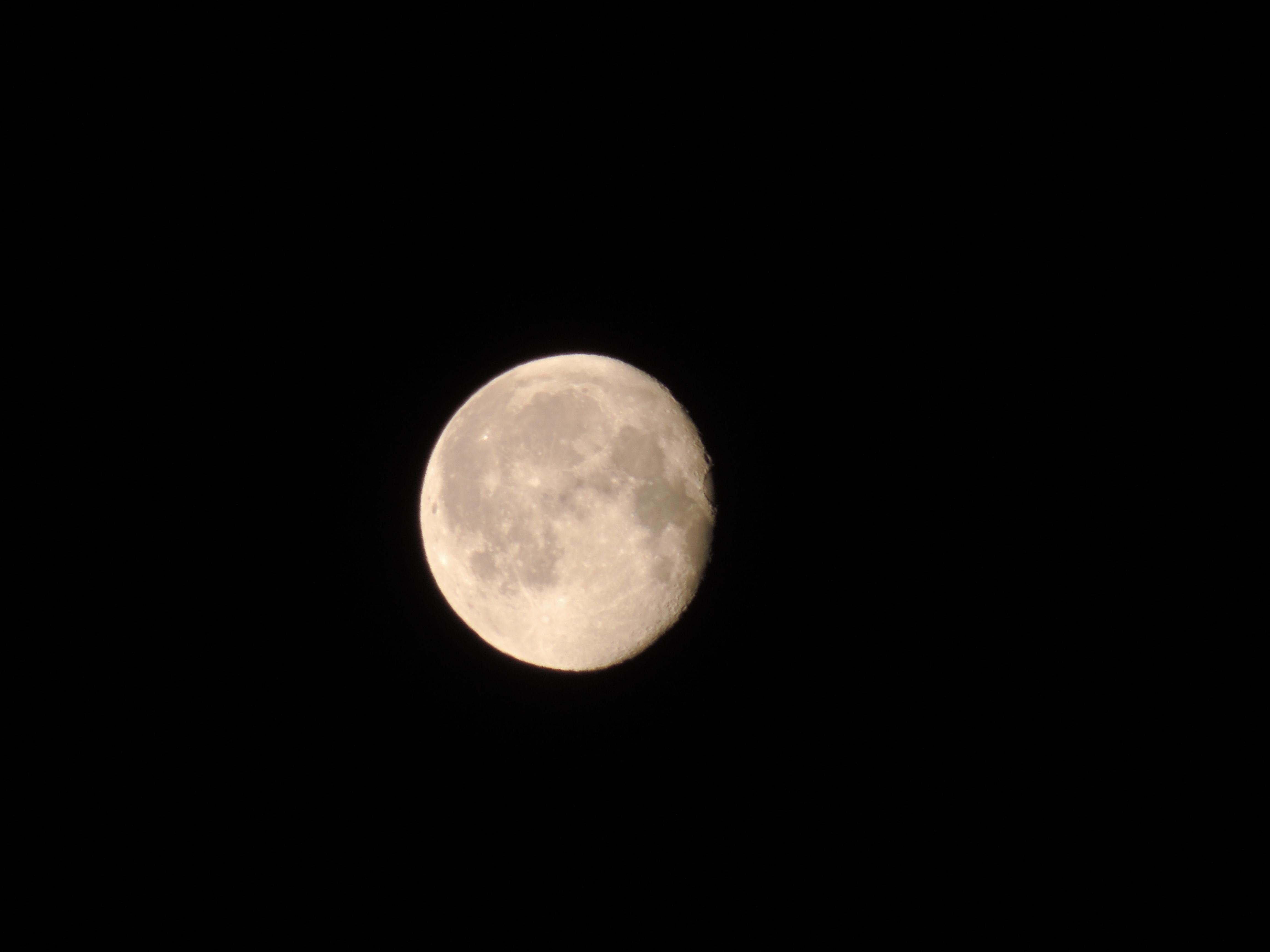 Moon by lumination