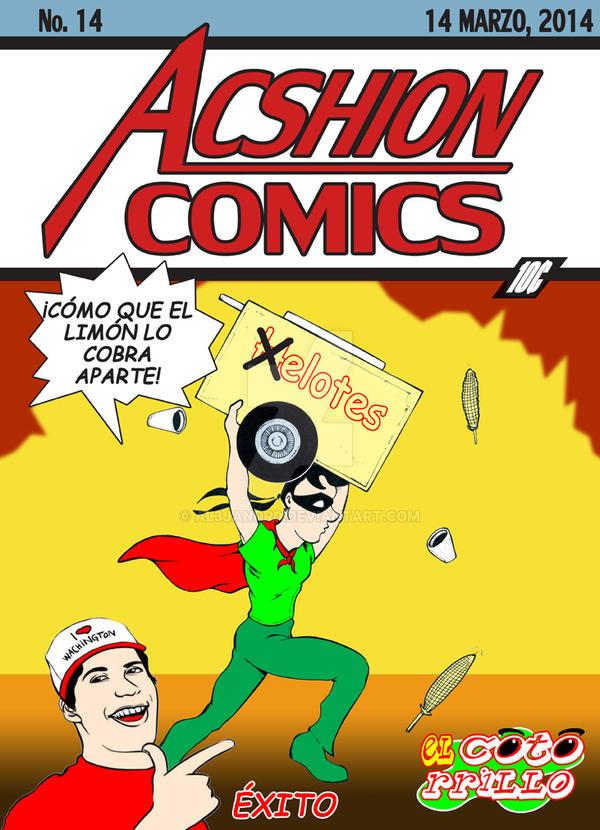El Cotorrillo en Acshion Comics by Al3jandr0