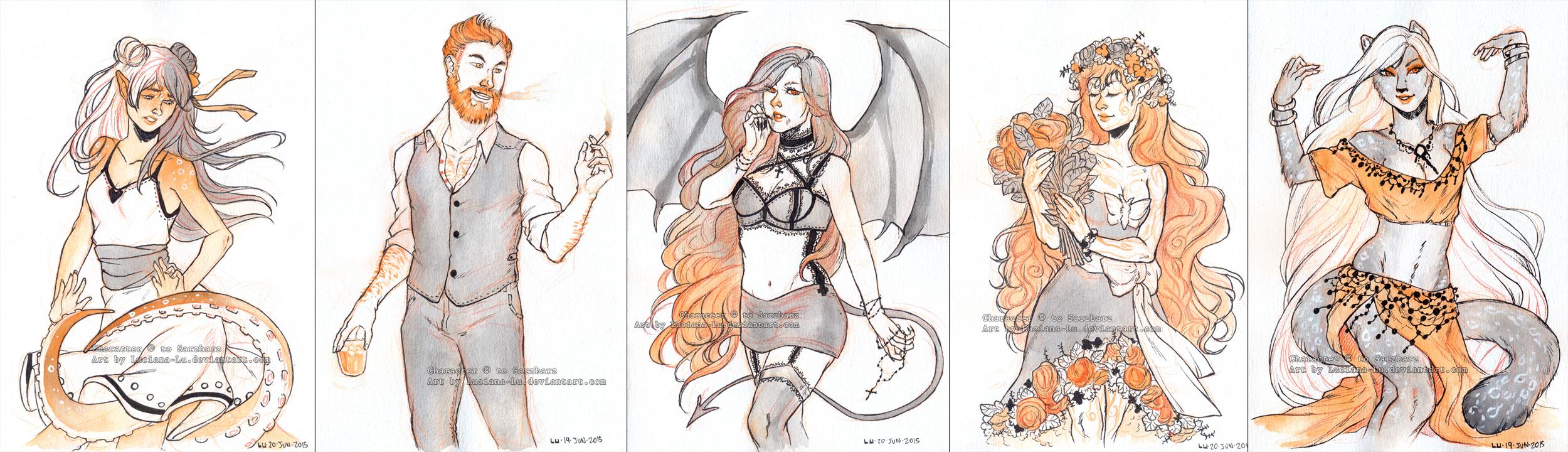 Iron Artist 3: 6-10 by Luciana-Lu