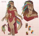 Commission: Character Design Jacira