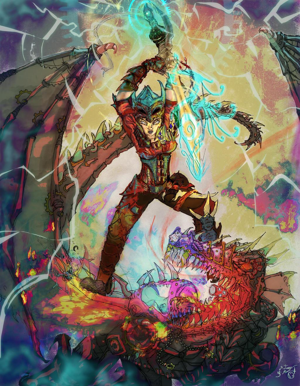Sonya Tyburn dragonstab