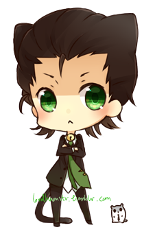 Neko!Loki by lordhamstr