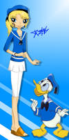 (Happy 80th Birthday!) Donald Duck Girl Outfit