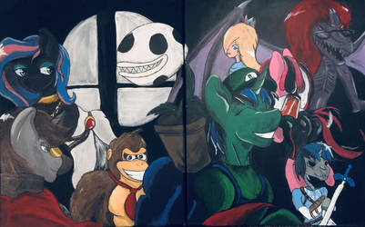 Lupi's Super Smash Bros by MixDaPonies