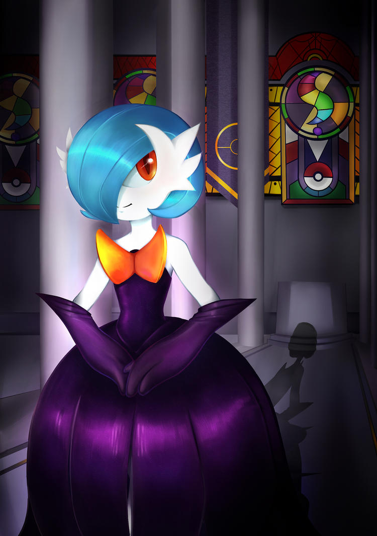 Pokemon - Shiny Mega Gardevoir by JacyA on DeviantArt