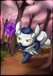 Pokemon - Meowstic F