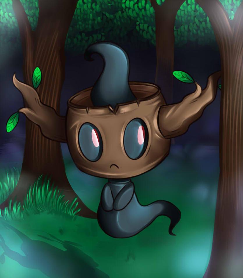 Pokemon Phantump By Jacya On Deviantart