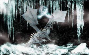 Frost Dragon 01 by AdamTLS