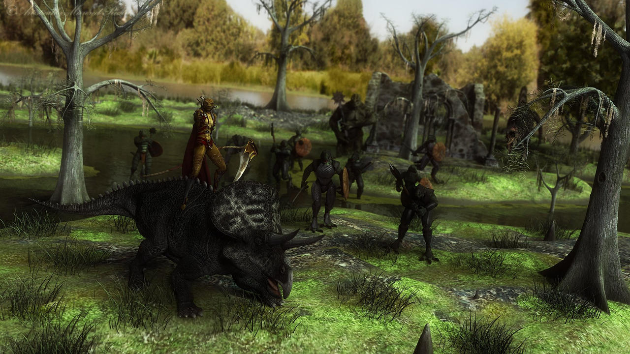 March of the Swamp Queen