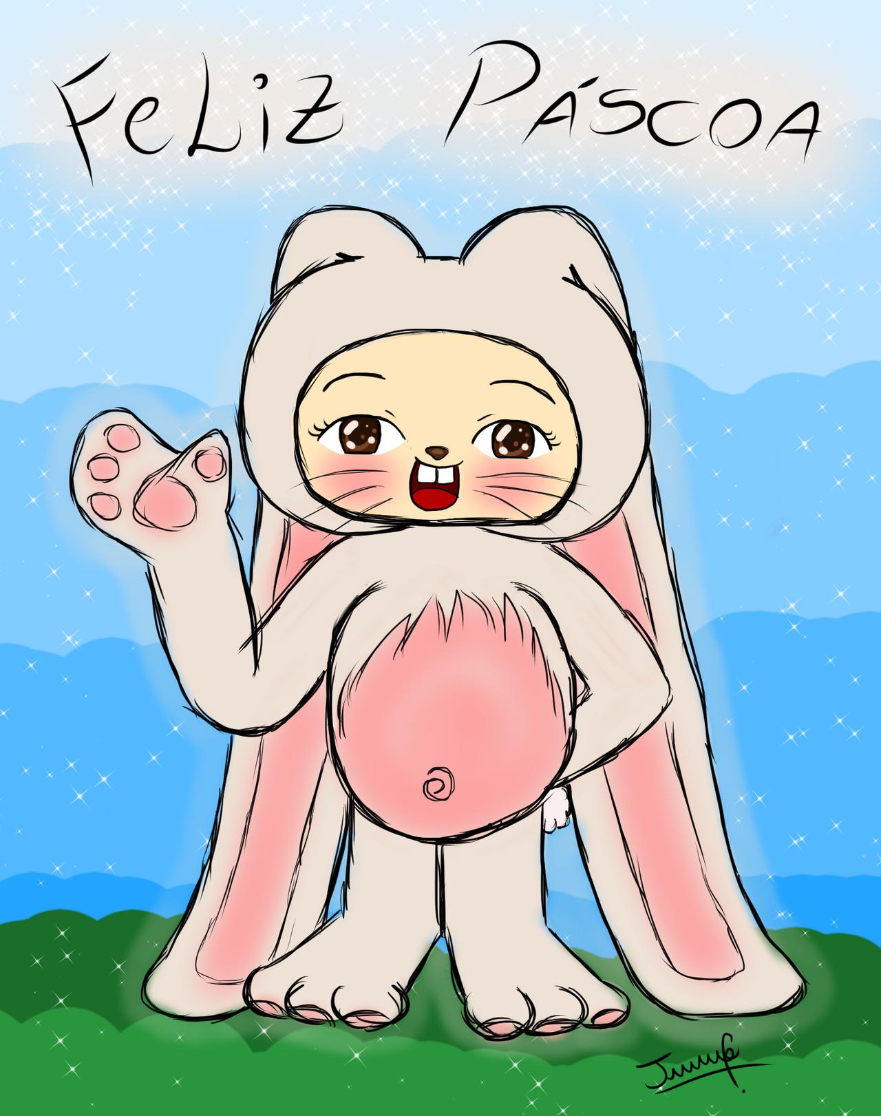 Feliz Pascoa by TiaJeh