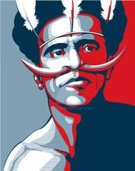 Papua on Obama Style by BluezAce