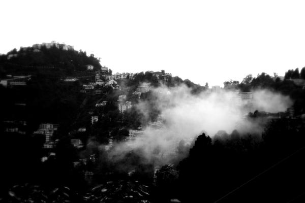 Thats Mussourie.. by kfunkymehta